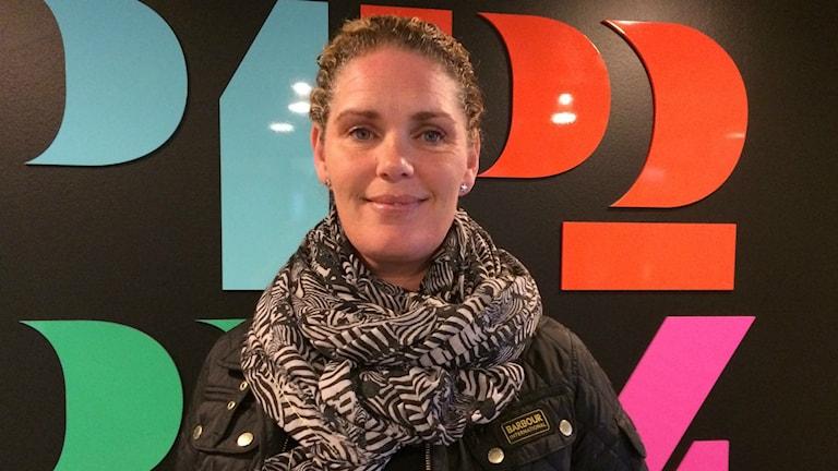 Jenny Tydén, rektor och bygglärare på Alströmergymnasiet