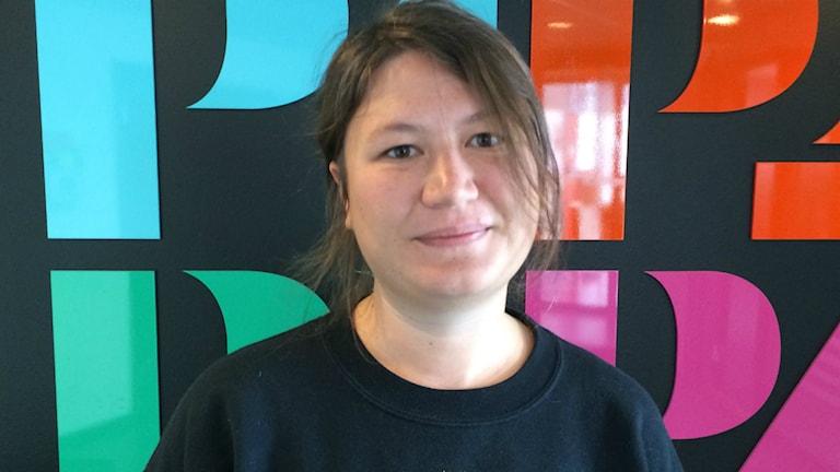 Matspanaren Ina Lundström i P4 Göteborgs studio