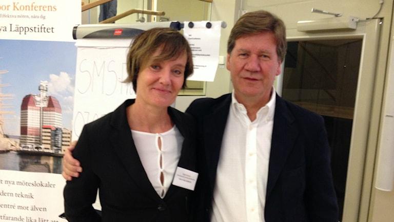 Marie Glas Kullbratt och Terje Ogden.
