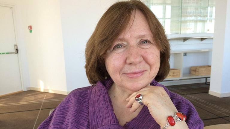 Svetlana Aleksijevitj, 2015 års nobelpristagare i litteratur