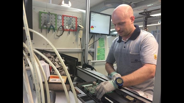 Christer Evenröd trivs med att jobba sex timmar.