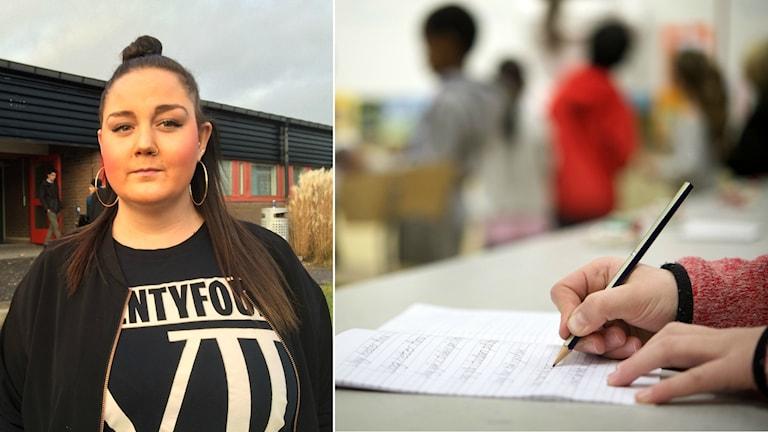 Lina-Mariah Abrahamsson, lärare på Angeredsgymnasiets språkintroduktion.