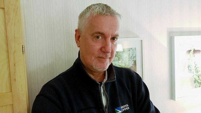 Mats Svensson som kallas för Fixar-Mats på jobbet.