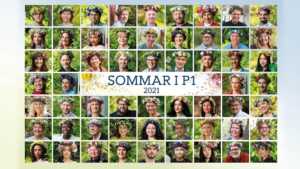 Alla sommarvärdar i Sommar i P1 2021.