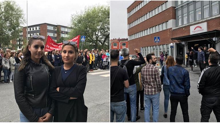 Manifestation asylrätten