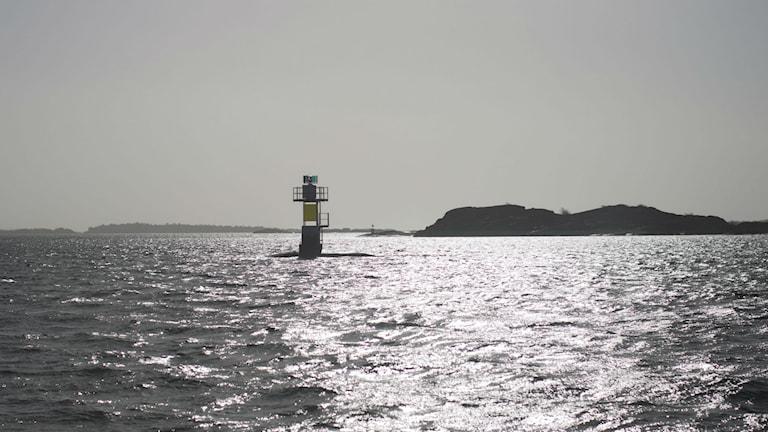 På sjöhbotten vid Donsö ligger långa spillvattenledningar.