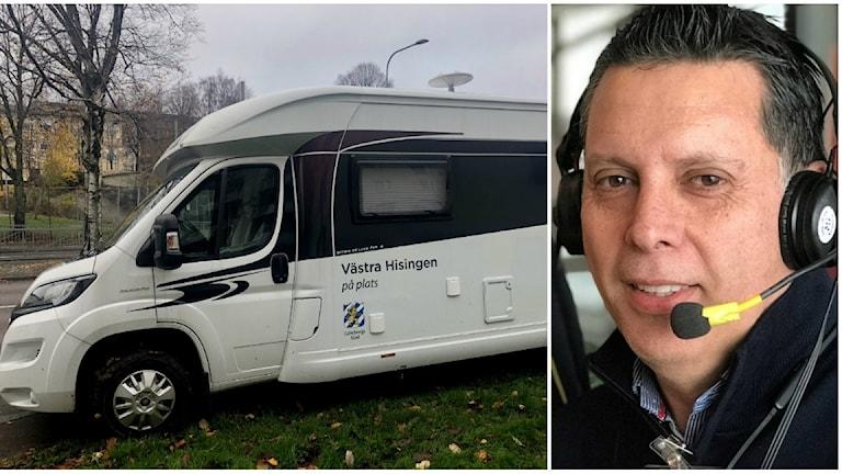 Sergio Garay, stadsdelsdirektör för Västra Hisingen.