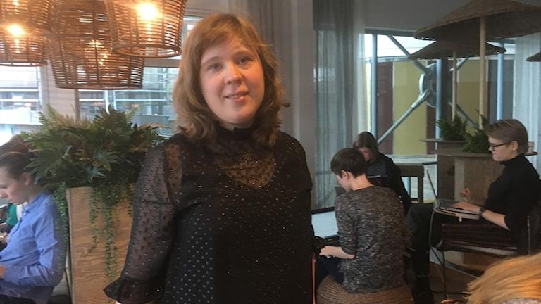 Liza Olsson är projektledare och aktiv i ideella organisationen Pink Programming.