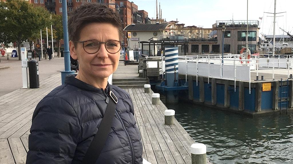 Ann-Sofie Hermansson i närbild
