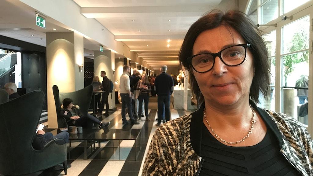 Susanne Forsman, biodlare på Nolhaga bigård i Kungälv