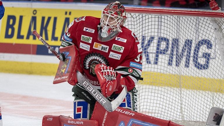 Frölundas målvakt Johan Mattsson