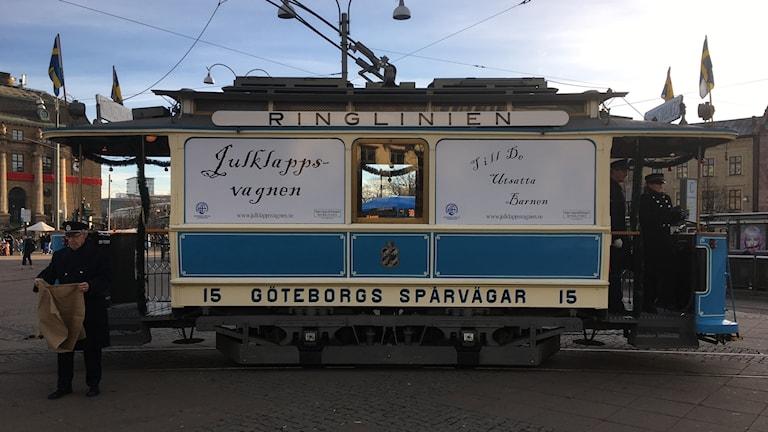 Julklappsvagnen