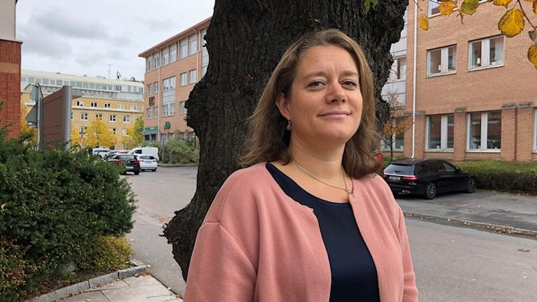 Katarina Idegård koordînatora kar û xebatên li hember şîdet û tadeyên girêdayî namûsê li şaredariya Göteborg.