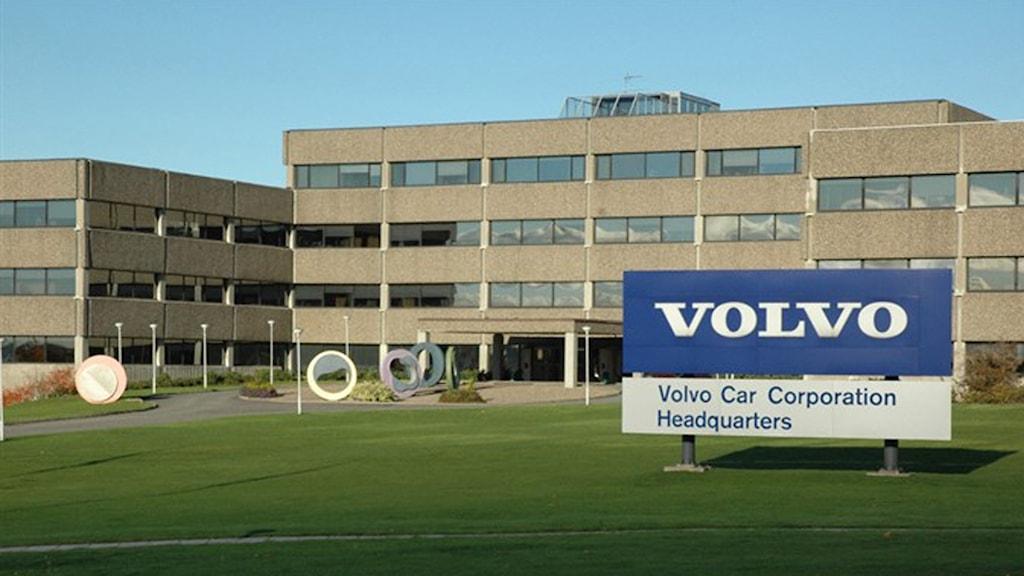 Volvo Car huvudkontor i Göteborg.