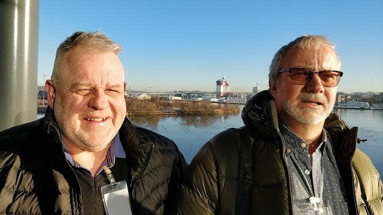 Lars Hällentorp och Jan Torstensson om solpaneler