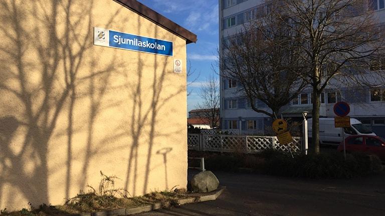 Sjumilaskolan. Foto: Josipa Kesic/Sveriges radio