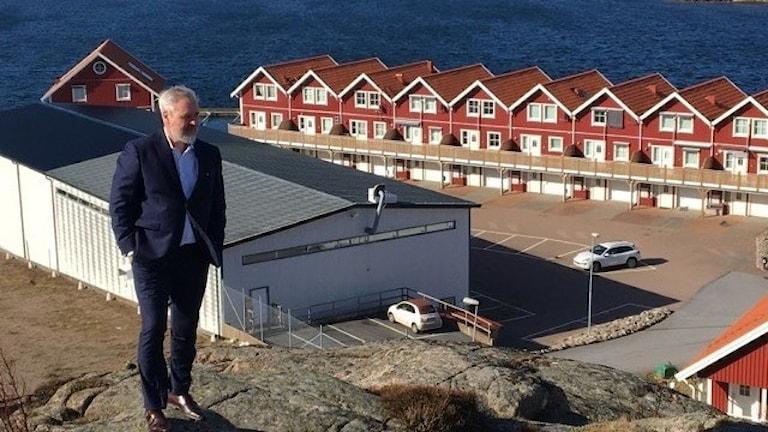 Roy W Höiås vill alltså satsa uppemot 20 miljarder på en fiskodling på land i Sotenäs