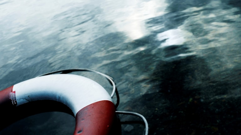 Livboj i vatten