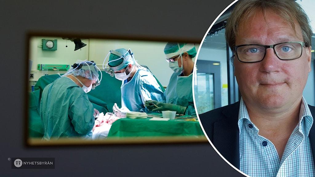 Jonas Andersson är regionråd för Liberalerna och ordförande i Hälso- och sjukvårdsnämnden.