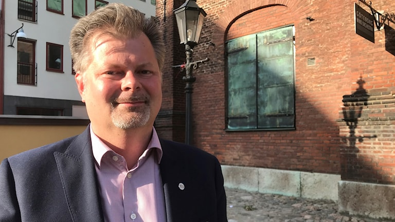 Axel Josefson, biträdande kommunalråd för moderaterna.