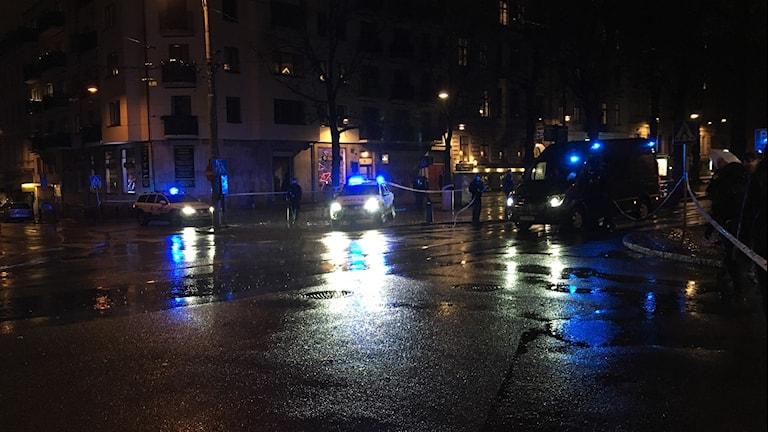 Polispådraget är störst vid Vasagatan i Göteborg.