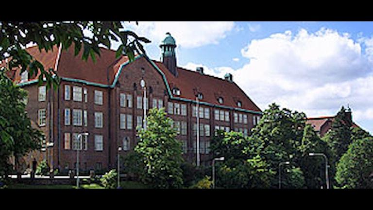 Hvitfeldtska Gymnasiet. Foto: Henrik Montgomery/Scanpix.