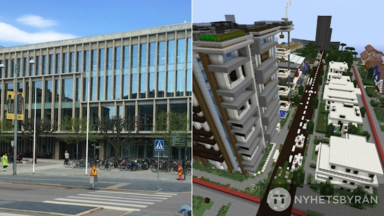 Göteborg finns nu i Minecraft