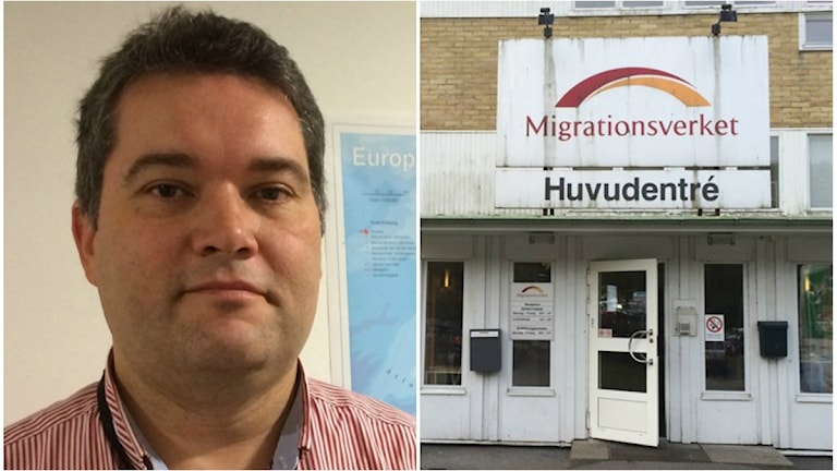 Marcus Toremar, regionschef på Migrationsverket väst.