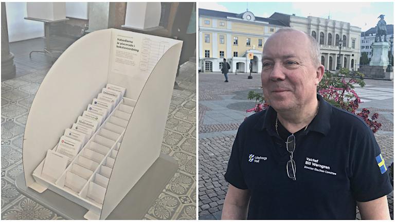 Bill Werngren, valchef i Göteborg