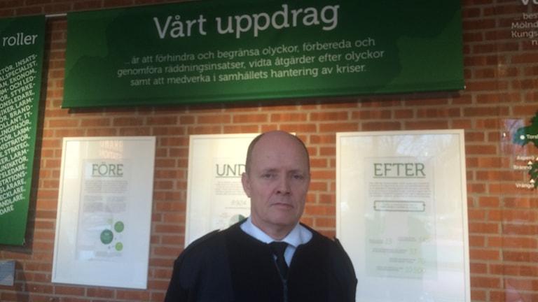 Lars Klevensparr. Direktör Räddningstjänsten StorGbg