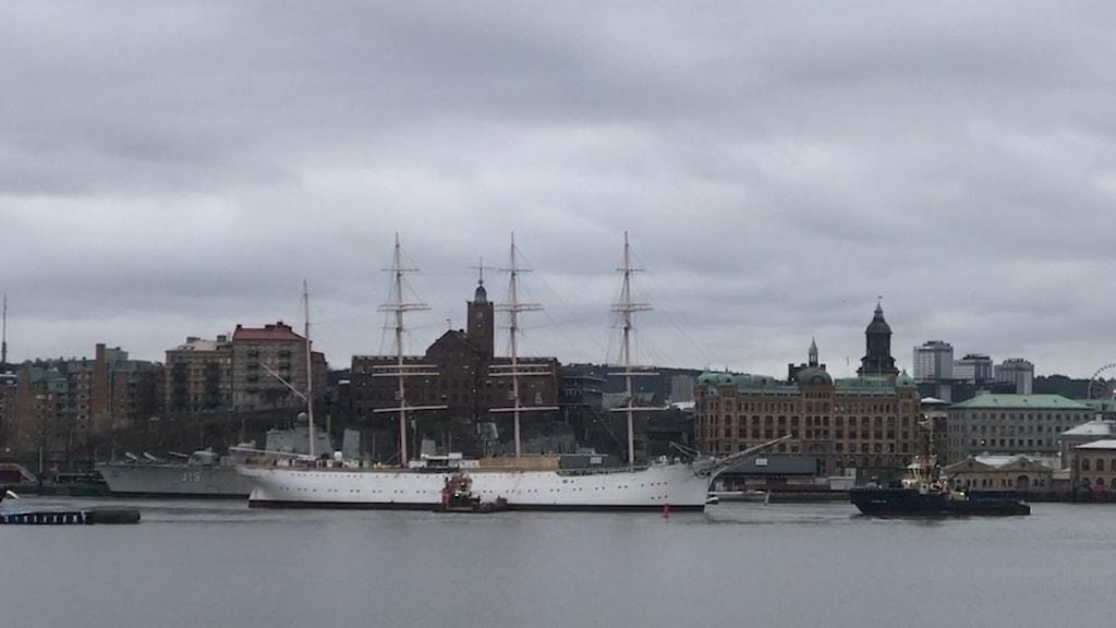 skepp i Göteborg