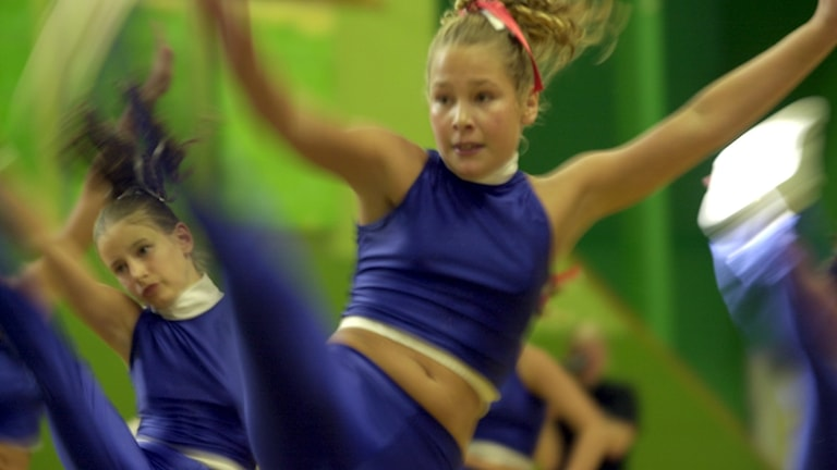 Bild på cheerleading