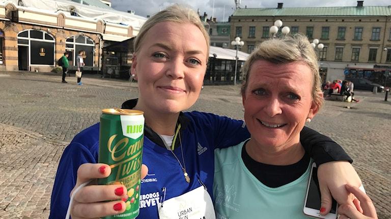 Mamma och Dotter Viktoria Oldsberg  och Gunilla Löfvenborg
