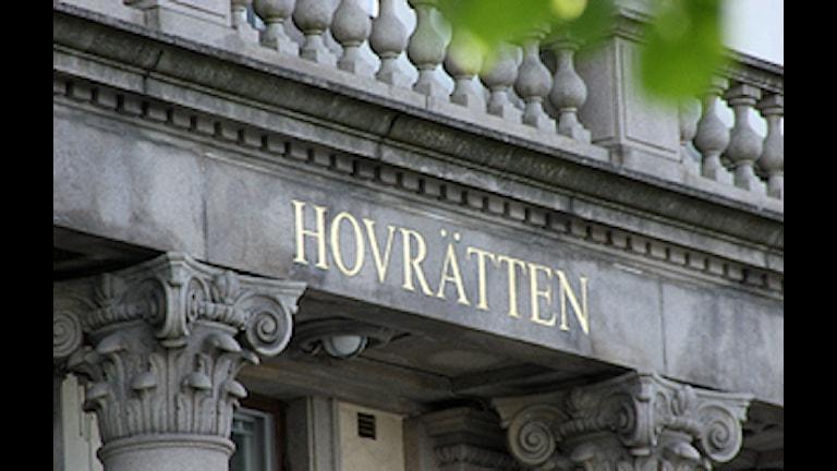 Hovrätten i Göteborg.