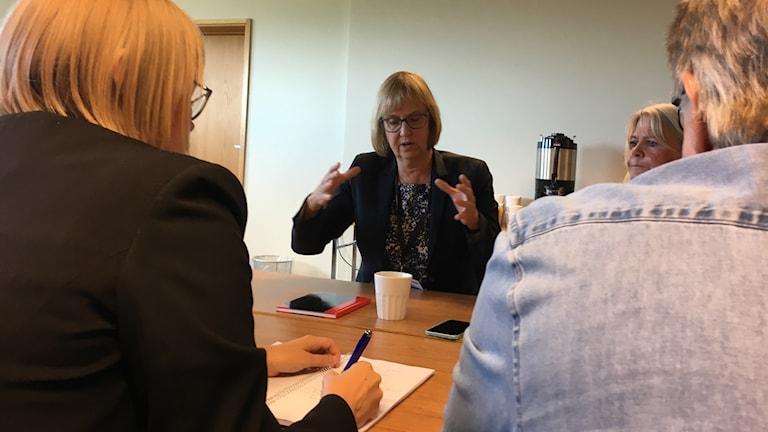 Lena Erixon, generaldirektör för Trafikverket