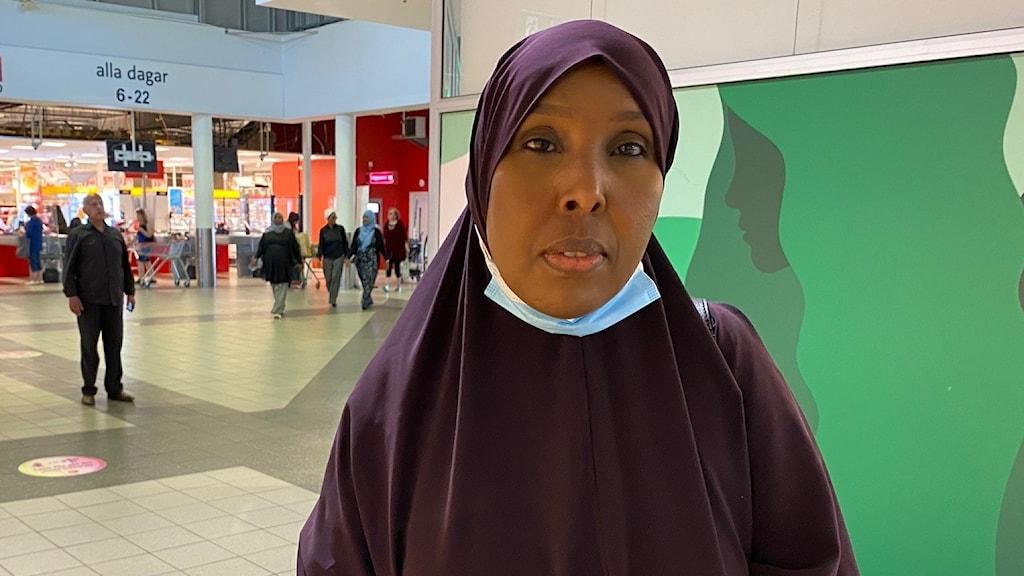 Saido Mohammed är kulturtolk i Angered