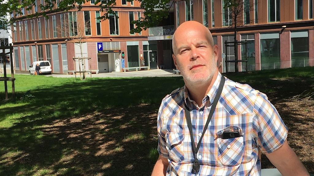 Kriminalinspektör Anders Eriksson