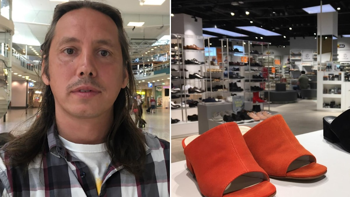 John Magnus Roos konsumtionsforskare, och en skobutik
