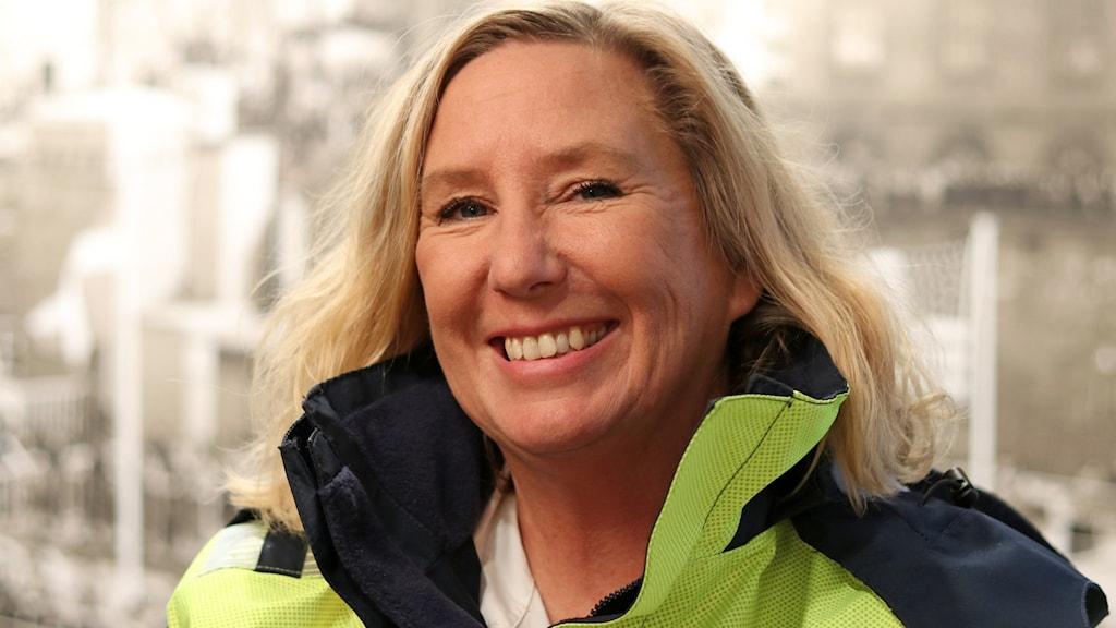 Åsa Kärnebro, hamnkapten för Göteborgs hamn menar att man agerar förebyggande.