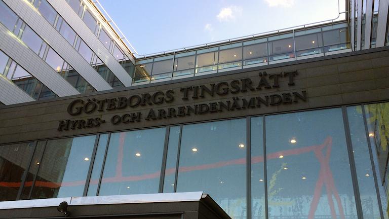 Göteborgs tingsrätt. Foto: Peter Stenberg / Sveriges radio