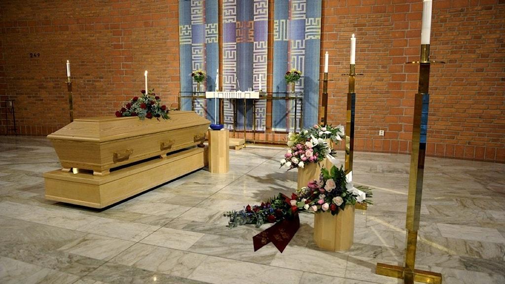 Borgerlig begravning. Foto: Janerik Henriksson / Scanpix