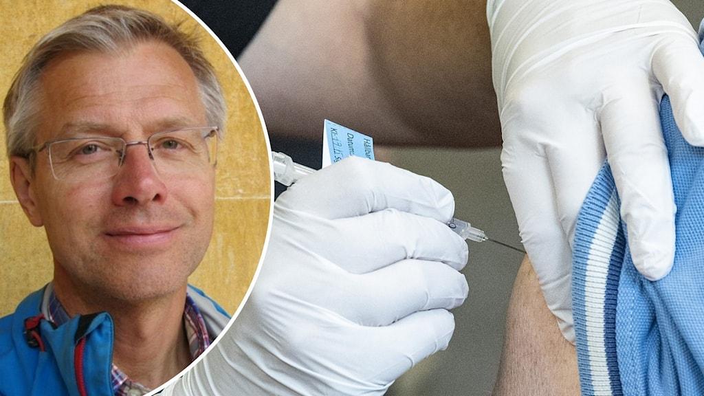 Jan Kilhamn tf hälso- och sjukvårdsdirektör i Västra Götalandsregionen.