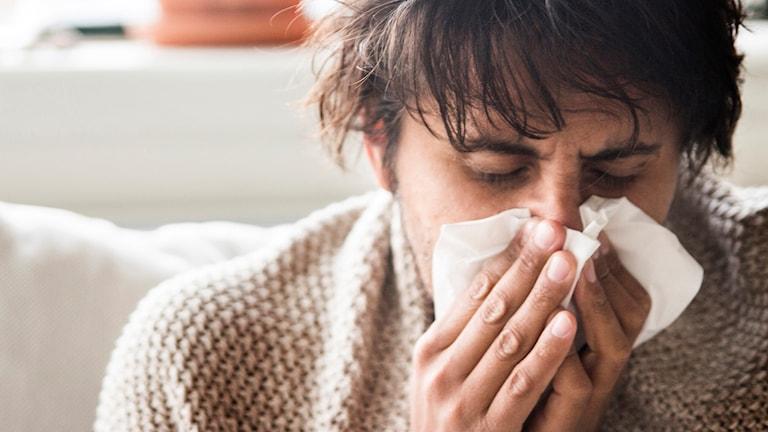 Influensan väntas ta fart