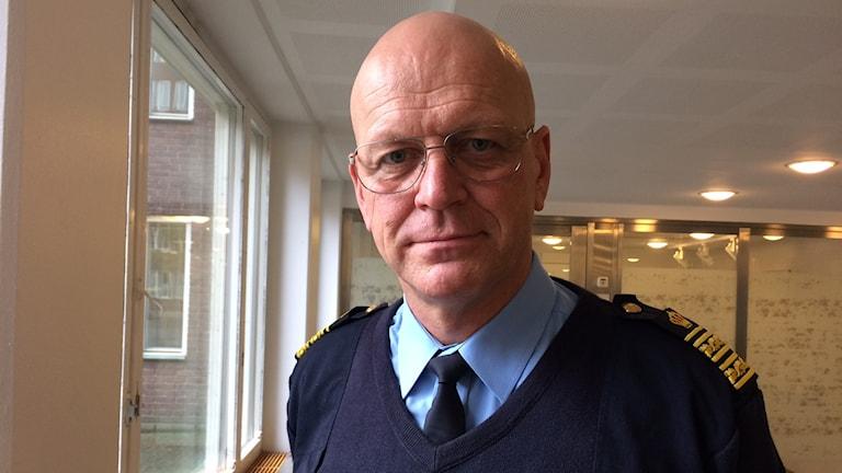 Erik Nord, polisområdeschef för Storgöteborg.