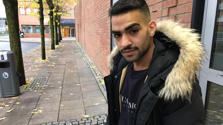 Hussein Al Saidan fick hjälp att välja annan väg. Foto: Josipa Kesic/ Sveriges Radio