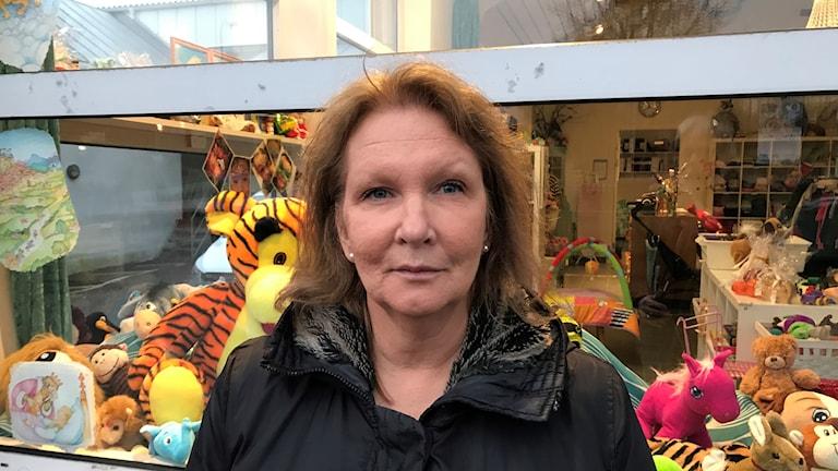 Barbara Skog hemma i Gårdsten.