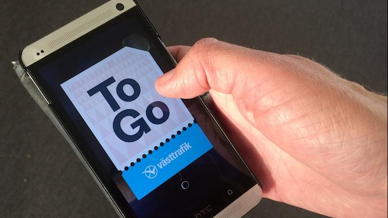 Digitala biljetter i mobilen framtiden för Västtrafik