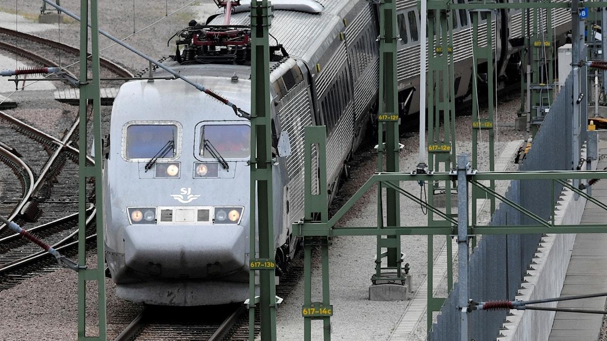 Ett X2000 tåg