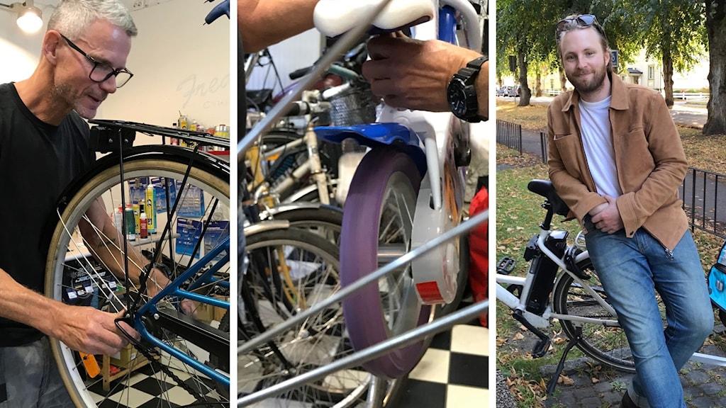 Reparation av cyklar