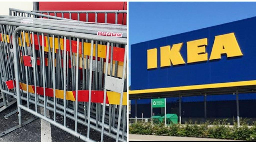 Kravallstaket och Ikea